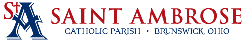Saint Ambrose Catholic Parish Logo