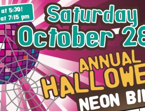 Halloween Neon Bingo