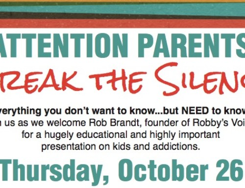 ATTN PARENTS: Break the Silence