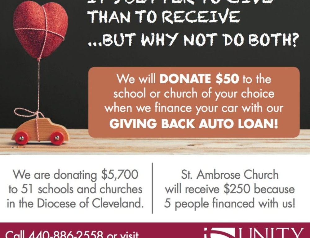 The Giving Back Car Loan