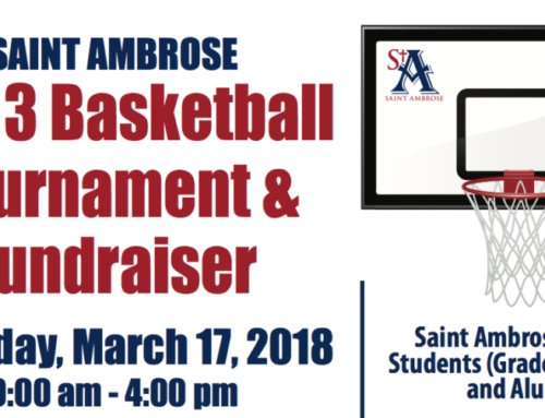 3 on 3 Basketball Tournament & Fundraiser: March 17