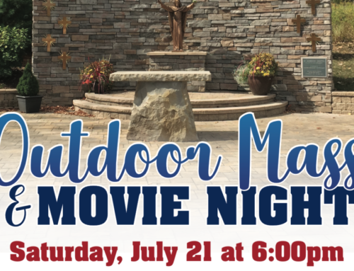 Outdoor Mass & Movie Night  – July 21
