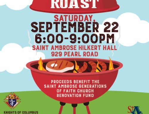 Steak Roast: September 22