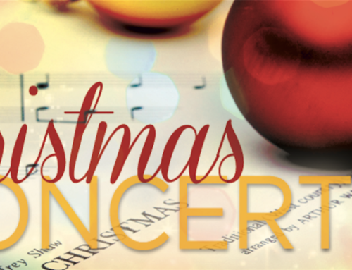 Music Ministry Christmas Concert and Potluck: December 8