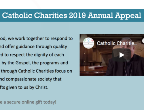 Catholic Charities 2019 Annual Appeal