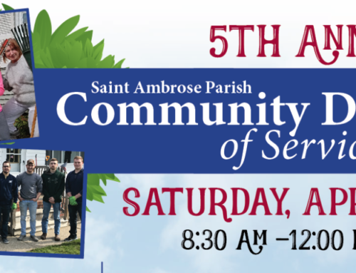 Community Day of Service: April 27