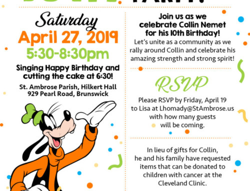 Collin's 10th Birthday Party! April 27
