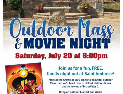 Outdoor Mass & Movie Night: July 20